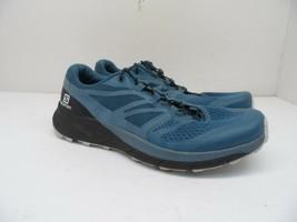 Salomon Women's Sense Ride 2 Trail Running Shoes Mallard Blue/Blue Stone 7.5M - $56.99