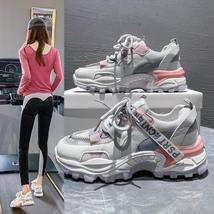 New Breathable Sports Shoes Female Students Net Celebrity Casual Running... - $34.15