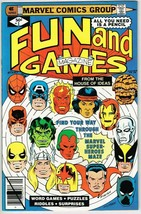 Marvel Fun and Games #1 (1979) - 9.4 NM *Coloring/Activity Book* - £17.05 GBP
