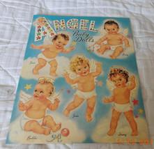 Angel Baby Paper Dolls - $10.00
