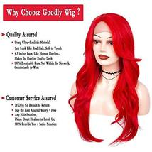 Goodly Red Lace Front Wigs for Women Fashion Glueless Long Wavy Wigs Lace Front  image 7