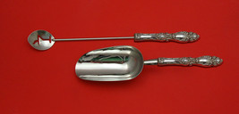 Lucerne by Wallace Sterling Silver Bar Set 2pc HHWS  Custom Made - $118.85