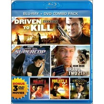 3-Film Action Collection (Driven To Kill / Super Cop / Bravo Two Zero) [Blu-ray]