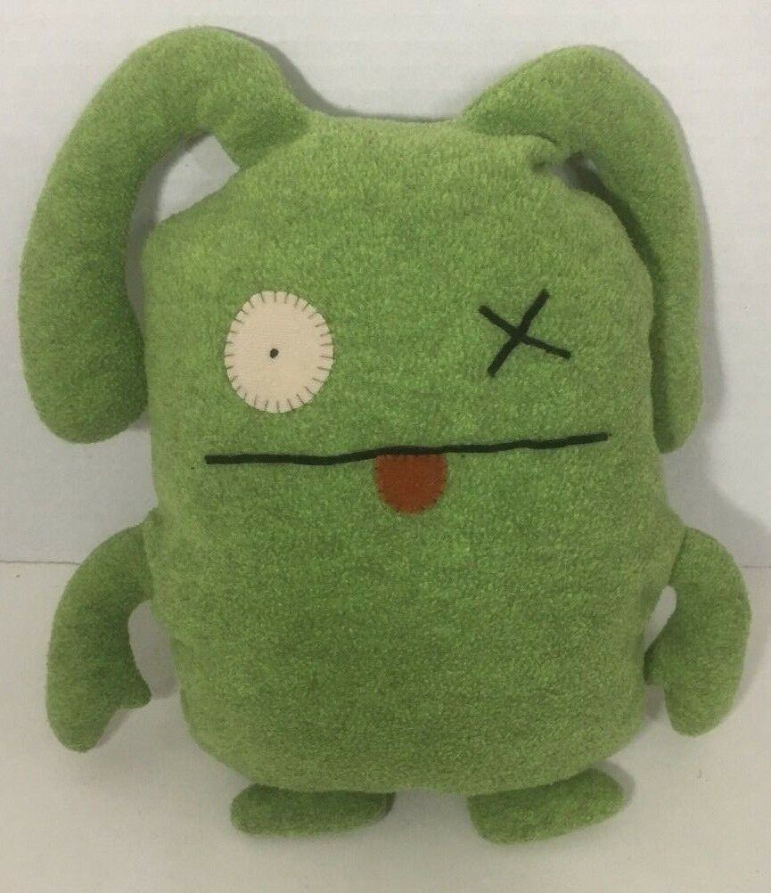 Primary image for Pretty Ugly Doll Ox Green Plush uglydoll monster x eye stuffed animal
