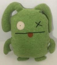 Pretty Ugly Doll Ox Green Plush uglydoll monster x eye stuffed animal - $8.90