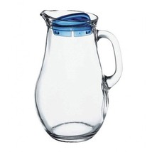 Pasabahce 80119, 61 3/4 oz Glass Jug, Pitcher with Handle, Juice Water S... - $23.60
