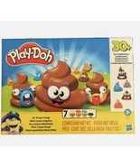 Play-Doh Lil' Poop Troop 7 cans 30+ Poo Combinations NEW.  LOT OF 2 - £10.54 GBP
