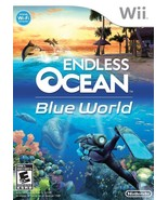 Endless Ocean Blue World NINTENDO Wii Video Game - $13.97