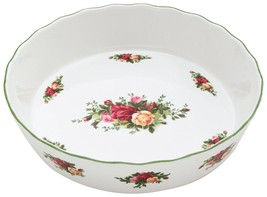 Royal Doulton Royal Albert Old Country Roses Pie Plate NEW - $79.19