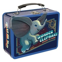 Walt Disney Dumbo Live Action Movie Large Tin Tote Lunchbox NEW UNUSED - $14.50