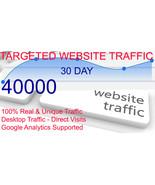 40000 SUPER-TARGETED WEBSITE TRAFFIC - $24.75