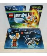 New Eris Eagle Interceptor Chima Lego Dimensions Fun Pack 71232 - $15.83