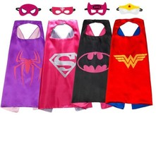 COOL SET Kids Cape & Mask Costume Children Toddler Dress Up Party Gift f... - $30.30