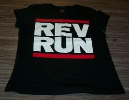 WOMEN'S TEEN RUN DMC REV RUN T-shirt XL Hip Hop Rap NEW - $19.80