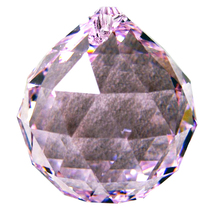 Swarovksi Crystal Faceted Ball Prism image 7