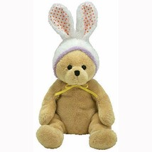 Springston the Bear with Bunny Ears Easter Ty Beanie Baby Retired MWMT P... - $11.83