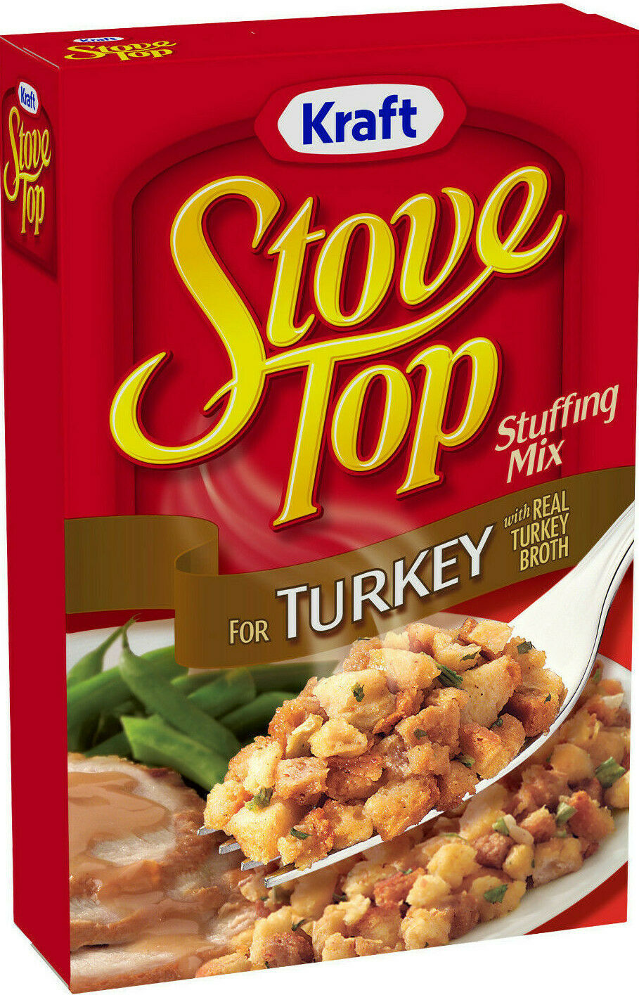 Primary image for Kraft Stove Top Turkey Stuffing Mix, 6 oz Box (3 Pack) ~ Fast Free Shipping !