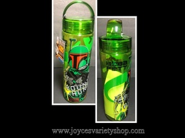 Star Wars Bounty Hunter Water Bottle Boba Fett 20 OZ Disney BPA Free - $8.99