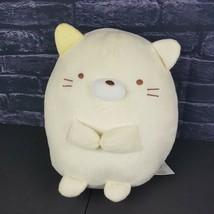 "San-x Sumikko Gurashi Plush Lucky Cat Medium 11"" Japan Stuffed Toy Spotted  - $33.65"