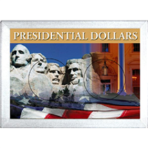 H.E. Harris & Co Presidential Dollar Frosty Case 2X3  - $5.82