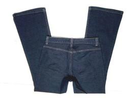 BANANA REPUBLIC Womens Jeans 8 Long Bootcut Dark Wash Stretch Denim 32.5... - $24.57