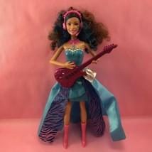 Barbie Singing Play Doll, Rock N Royals Erika w Guitar, Little Girl Gift... - $12.00