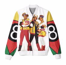8 Ball x Salt  3D Sublimation Print Men Women Zipper Up Jacket outwear - $59.71