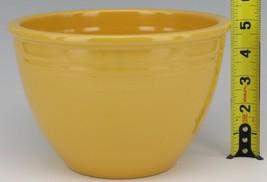 Vintage Original Fiesta #4 Yellow Mixing Bowl No Bottom Rings - EX Condition image 2