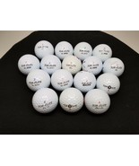 TOP FLITE XL XL 2000 GOLF BALLS 3 & 4 Size mixed lot of 16 - $14.36