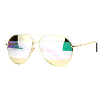 Designer Fashion Aviator Sunglasses Metal Divided Mirror Lens UV 400 - $9.95