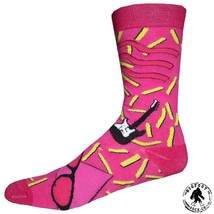 Rock N Roll Party Socks Fun Novelty One Size Fits Most Dress Casual Big ... - $12.49