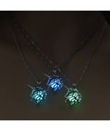 Hecarim Glow in the Dark necklace LOL Hecarim HORSE Horse silver Chain J... - $9.99