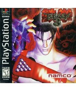Tekken 3 PS1 Great Condition Fast Shipping - $11.64