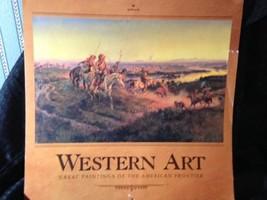 Vintage Hallmark Western Art Calendar 1992 - $3.95