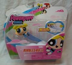 Powerpuff Girls Bubbles Cartoon Network Speed Line Toy Figure Spin Master New - $16.34