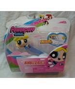 POWERPUFF GIRLS BUBBLES Cartoon Network SPEED LINE TOY FIGURE Spin Maste... - $16.34