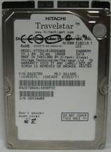 "100GB 2.5"" SATA HTS541010G9SA00 Hitachi 9.5mm 5400RPM Hard Drive Tested Good"