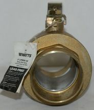 Watts LFFBVS 3C Full Port Brass Ball Valve 3 inch Full Port Sweat 400 WOG image 4