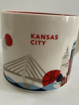Starbucks Kansas City You Are Here YAH Series Coffee Tea Mug Cup 2014 14oz - $12.00