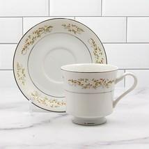 International Silver Co Tea Cup & Saucer Set of 5 Springtime 326 Japan Tableware - $33.24