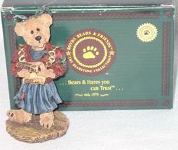 Boyd Bearstone Resin Bears Justina The Choir Singer Figurine #228624 Special Ed. image 3