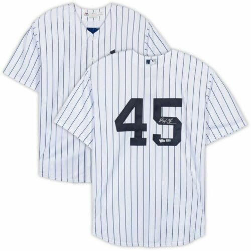 Primary image for Luke Voit Signed New York Yankees White Replica Jersey Fanatics.