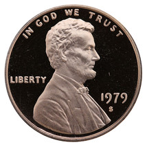 1979-S Lincoln Memorial Cent Penny Gem Proof US Mint Coin Uncirculated UNC - $7.99