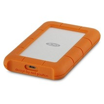 LaCie Rugged USB-C and USB 3.0 2TB Portable Hard Drive-STFR2000800  - $138.49