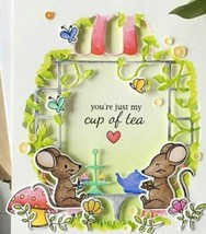 Hero Arts Tea Party Fancy Die #D1561 - PERFECT FOR CARD MAKING!