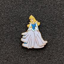 Aurora from Sleeping Beauty, Blue Long Sleeve Dress. Disney lapel pin - $50.00