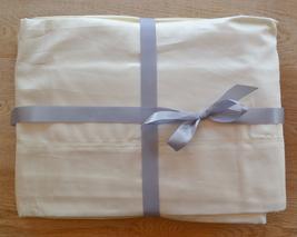 Sferra Fiona Ivory Queen Sheet Set - Cotton Sateen - $400.00