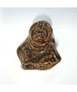 Vintage Mini  Wade England Red Rose Tea Orangutan Monkey Whimsies Figurine - $11.99