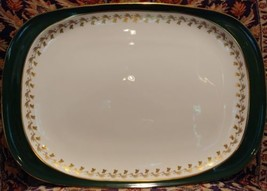 """Spode GREEN VELVET  Platter 14.75"""" - $67.28"""