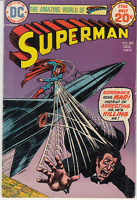 1974 DC Comics Superman #282
